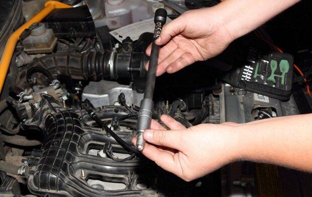 Замена свечей зажигания Лада Приора 16 valve своими руками