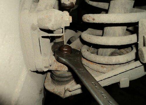 Шаровая опора ваз 2107 нижняя и верхняя