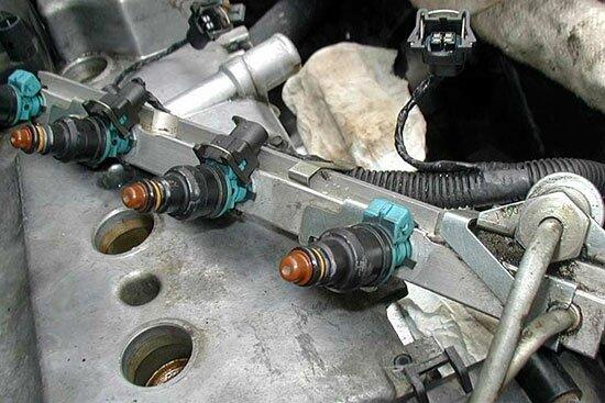 Самостоятельная чистка форсунок ВАЗ 2110. Как промыть форсунки своими руками