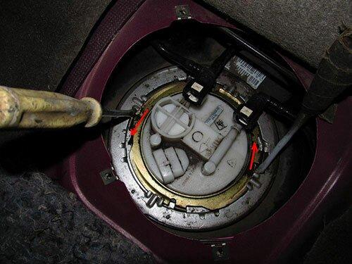 Замена топливного фильтра Лада Калина. Ремонт бензонасоса: замена сеточки