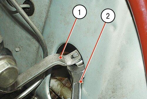 Самостоятельная замена пружин передней подвески ВАЗ 2106