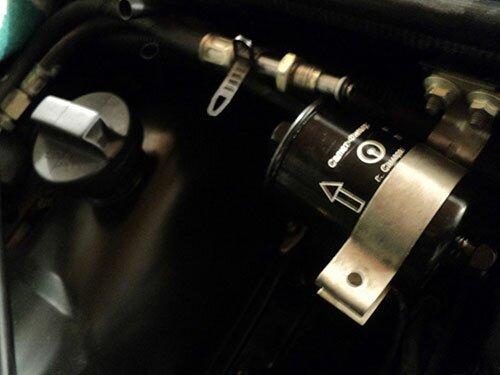 Замена топливного фильтра ВАЗ 2107 своими руками