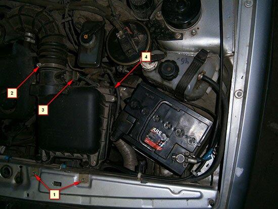 Как снять стартер ВАЗ 2115 своими руками