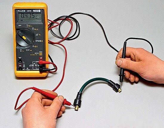 Как проверить высоковольтные провода зажигания?