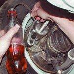 Как прокачать тормоза ВАЗ 2101?
