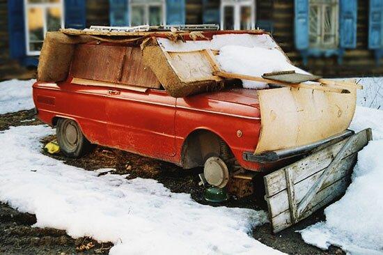 Зимнее хранение автомобиля на улице: особенности, основные недостатки