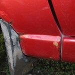 Ремонт переднего крыла Лада Калина: шпатлевка, грунтовка, покраска своими руками
