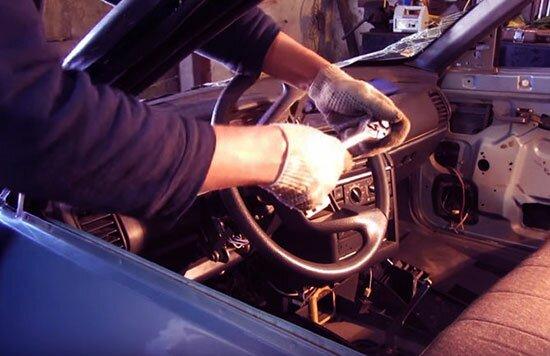 Как снять руль на ВАЗ 2110 своими руками — пошаговая инструкция