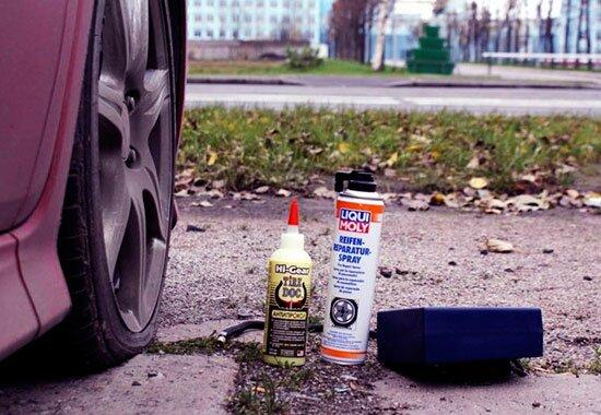 Герметик для шин — хороший способ сэкономить время и силы на ремонте шин