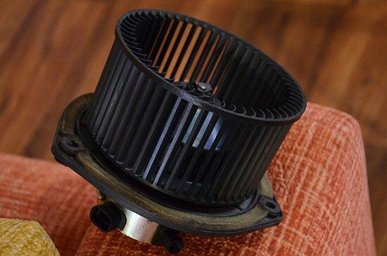Вентилятор печки Лада Калина снять и готов к замене или ремонту