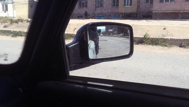 Ставим зеркала от Приоры на ВАЗ 2106!